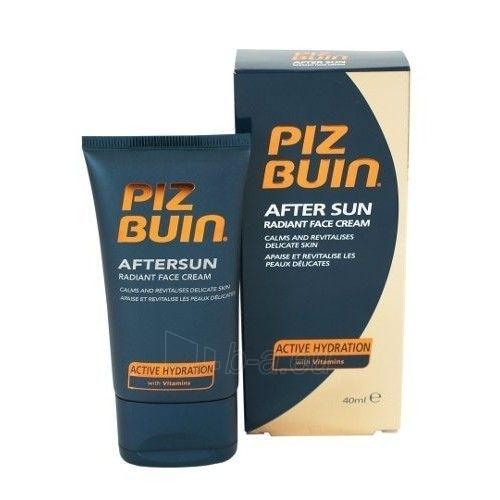 Sun cream Piz Buin After Sun Radiant Face Cream Cosmetic 40ml Paveikslėlis 1 iš 1 250860000207
