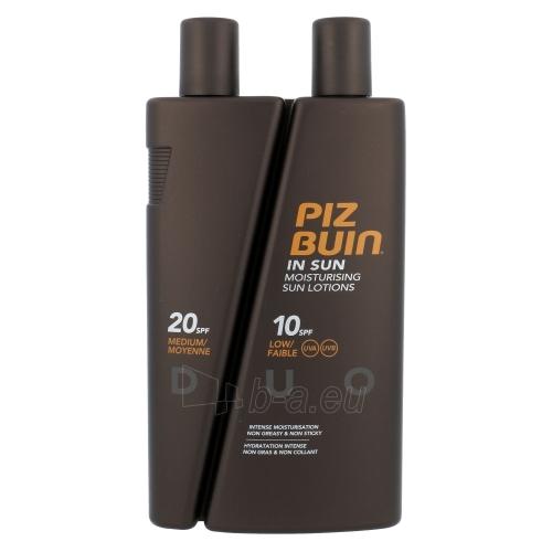 Sun krēms Piz Buin In Sun Lotion SPF10 + DUO SPF20 Cosmetic 300ml Paveikslėlis 1 iš 1 250860000429