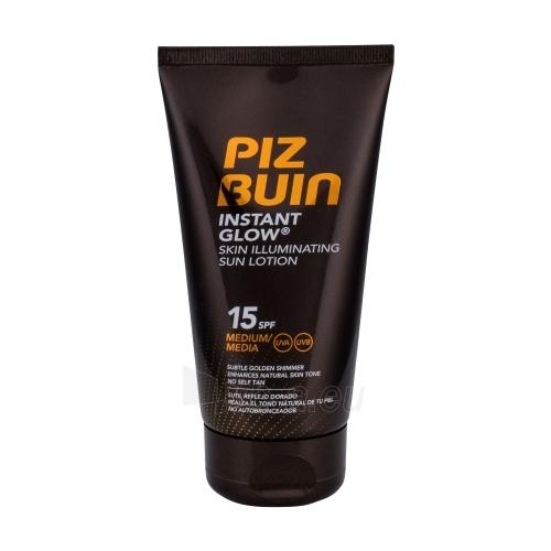 Saulės kremas Piz Buin Instant Glow Sun Lotion SPF15 Cosmetic 150ml For a natural sunbathing process Paveikslėlis 1 iš 1 310820125018