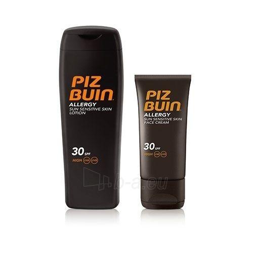 Saulės kremas Piz Buin Sun Care Cream SPF 30 Allergy 200 ml + Face Cream SPF 30 Allergy 50 ml Paveikslėlis 1 iš 1 310820162504