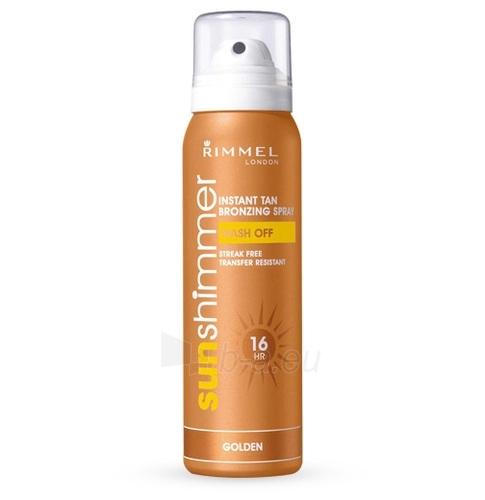 Sun Cream Rimmel London Sun Shimmer Bronzing Spray  Cosmetic 100ml . Paveikslėlis 1 iš 1 250860000308