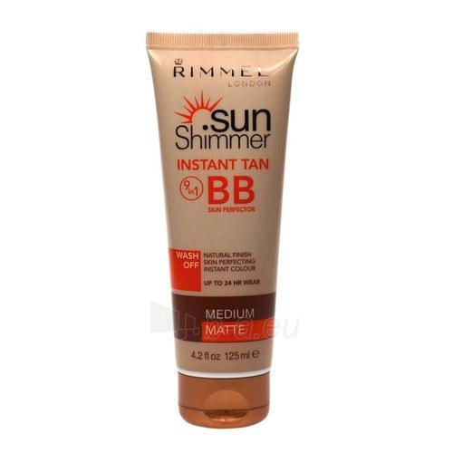 Saulės kremas Rimmel London Sun Shimmer Instant Tan BB Skin Perfector Cosmetic 125ml Paveikslėlis 1 iš 1 250860000434