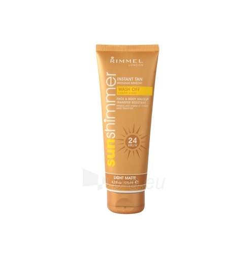 Saulės kremas Rimmel London Sun Shimmer Instant Tan Cosmetic 125ml. Paveikslėlis 1 iš 1 250860000306