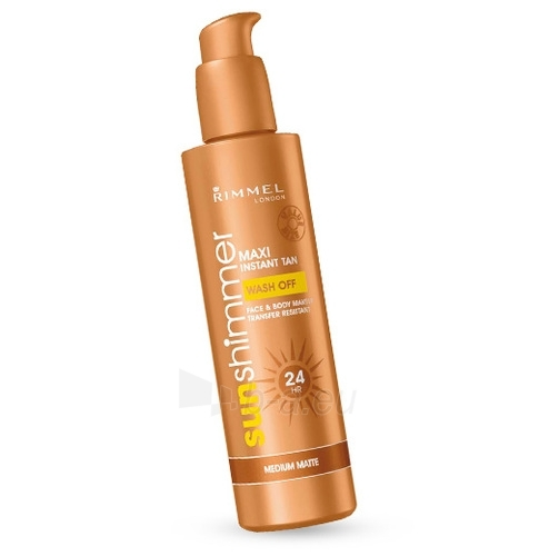 Sun Cream Rimmel London Sun Shimmer Instant Tan Maxi Cosmetic Light Matte  225ml  Paveikslėlis 1 iš 1 250860000313