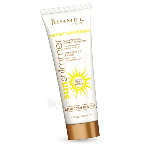 Sun Cream Rimmel London Sun Shimmer Instant Tan Remover Cosmetic 125ml Paveikslėlis 1 iš 1 250860000305