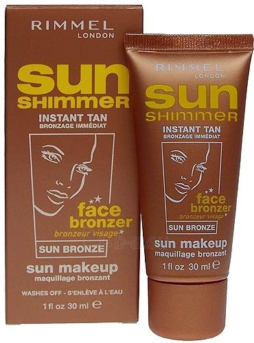 Sun Cream Rimmel London Sun Shimmer Sun Bronze Cosmetic 30ml Paveikslėlis 1 iš 1 250860000248