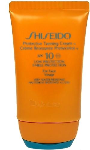 Sun krēms Shiseido 10 Protective Sauļošanās krēms SPF10 Cosmetic 50ml (tester) Paveikslėlis 1 iš 1 250860000269