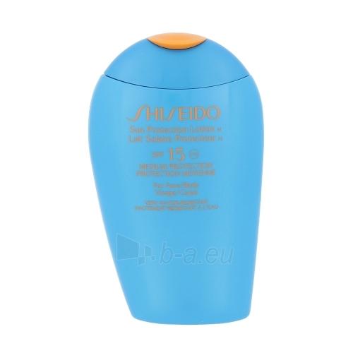 Saulės kremas Shiseido 15 Sun Protection Lotion SPF15 Cosmetic 150ml Paveikslėlis 1 iš 1 250860000184