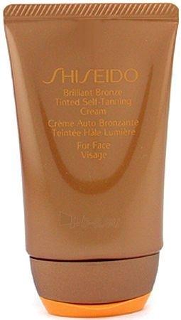 Saulės kremas Shiseido Brilliant Bronze Tinted Self Tanning Deep Cream Cosmetic 50ml (testeris) Paveikslėlis 1 iš 1 250860000189