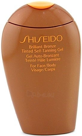 Sun cream Shiseido Brilliant Bronze Tinted Self-Tanning Gel Medium Cosmetic 150ml (tester) Paveikslėlis 1 iš 1 250860000193
