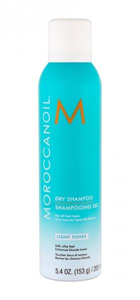 Sausas šampūnas Moroccanoil Dry Shampoo Light Tones Dry Shampoo 205ml Paveikslėlis 1 iš 1 310820195108