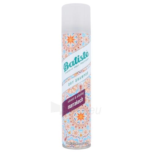 Sausas šampūnas plaukams Batiste Dry Shampoo Marrakech Cosmetic 200ml Paveikslėlis 1 iš 1 310820042327