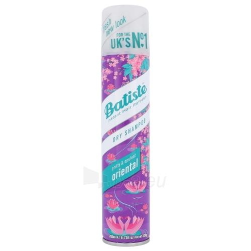 Sausas šampūnas plaukams Batiste Dry Shampoo Oriental Cosmetic 200ml Paveikslėlis 1 iš 1 310820042325