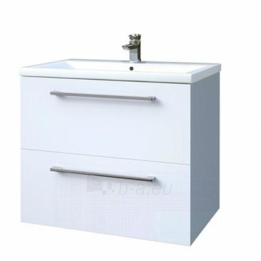 Scandic cabinet with wash basin 60cm, drawers Paveikslėlis 4 iš 5 30057400014