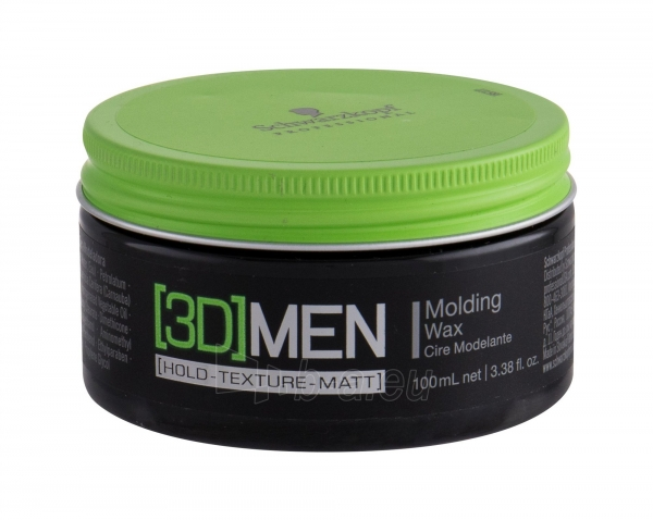 Schwarzkopf 3DMEN Molding Wax Cosmetic 100ml Paveikslėlis 1 iš 1 250832500587