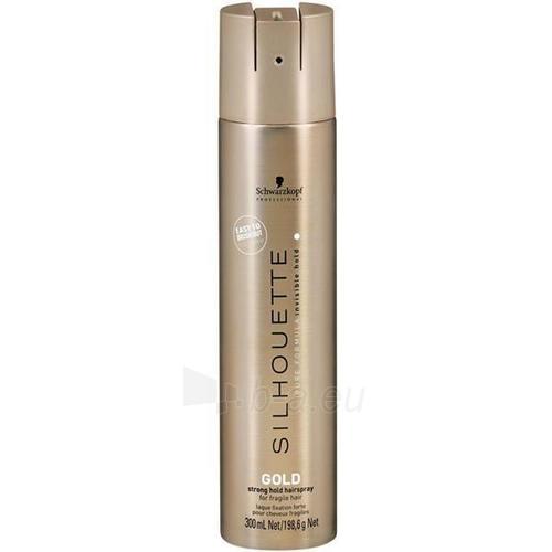Schwarzkopf Silhouette Gold Strong Hold Hairspray Cosmetic 300ml Paveikslėlis 1 iš 1 250832500310