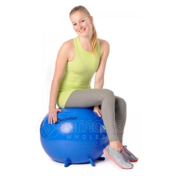 Sėdėjimo kamuolys Original PEZZI Sitsolution MAXAFE 65 cm Blue Paveikslėlis 1 iš 6 310820136667