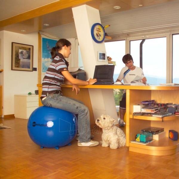 Sėdėjimo kamuolys Original PEZZI Sitsolution MAXAFE 65 cm Blue Paveikslėlis 2 iš 6 310820136667