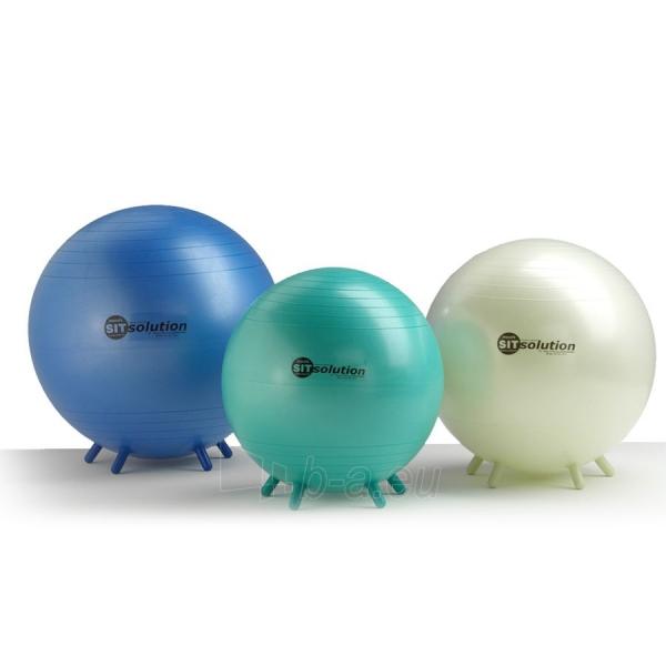 Sėdėjimo kamuolys Original PEZZI Sitsolution MAXAFE 65 cm Blue Paveikslėlis 5 iš 6 310820136667