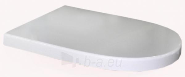Sėdynė klozeto Meridian su dangčiu SC, balta Paveikslėlis 1 iš 1 310820040555