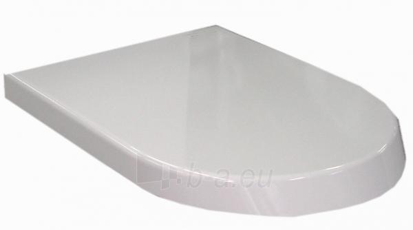 Sėdynė klozeto Roca Nexo WC su dangčiu softclose, balta Paveikslėlis 1 iš 2 270740000068
