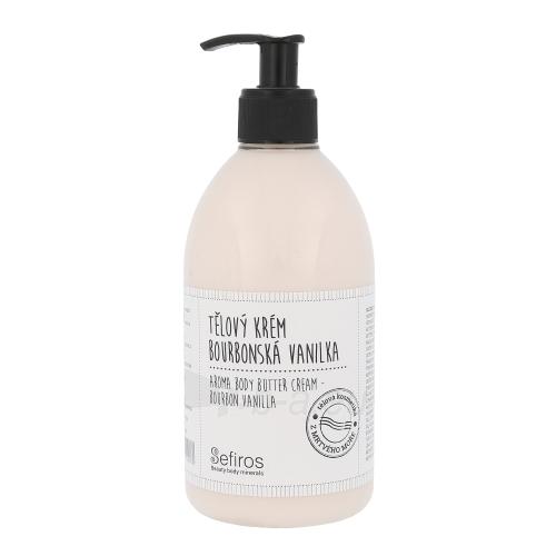 Sefiros Aroma Body Butter Cream Bourbon Vanilla Cosmetic 500ml Paveikslėlis 1 iš 1 310820003300