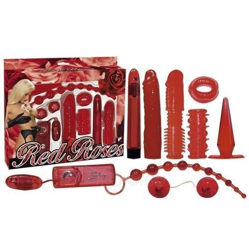 Sekso žaisliukų rinkinys Raudonos rožės Paveikslėlis 1 iš 2 310820006267