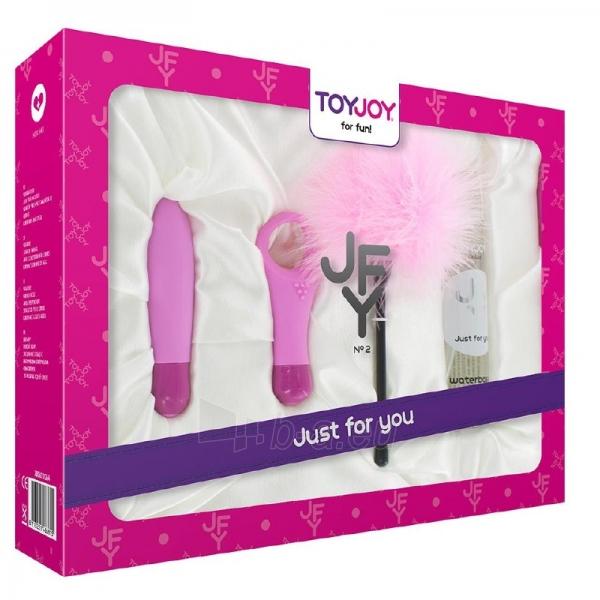 Sekso žaisliukų rinkinys Rožinė akustika Paveikslėlis 1 iš 8 2514060000083