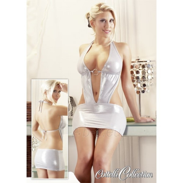 Seksuali suknelė Sidabriukė (M dydis) Paveikslėlis 2 iš 2 310820023567