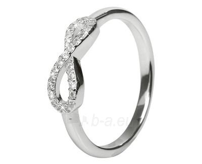 Selilya sidabrinis žiedas SRJ14 (Dydis: 53 mm) Paveikslėlis 1 iš 1 310820005081