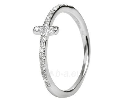 Selilya sidabrinis žiedas SRJ19 (Dydis: 54 mm) Paveikslėlis 1 iš 1 310820005082
