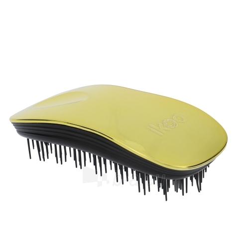 Šepetys plaukams Ikoo Metallic Home Cosmetic 1ks Shade Soleil Black Paveikslėlis 1 iš 1 310820041576
