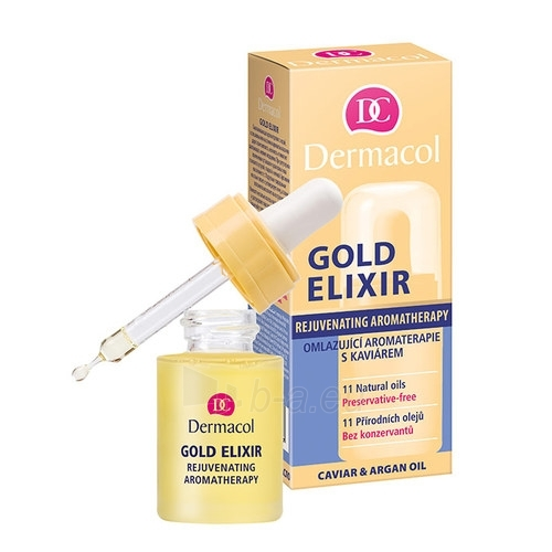 Serums Dermacol Gold E Cosmetic 15ml Paveikslėlis 1 iš 1 250840500074