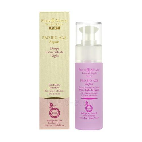 Serumas Frais Monde Pro Bio-Age Repair Drops Night Concentrate Cosmetic 30ml Paveikslėlis 1 iš 1 250840500864