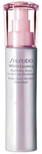 Serums Shiseido White Lucency Brightening Serum Neck Decolletage Cosmetic 75ml (testeris) Paveikslėlis 1 iš 1 250840500245