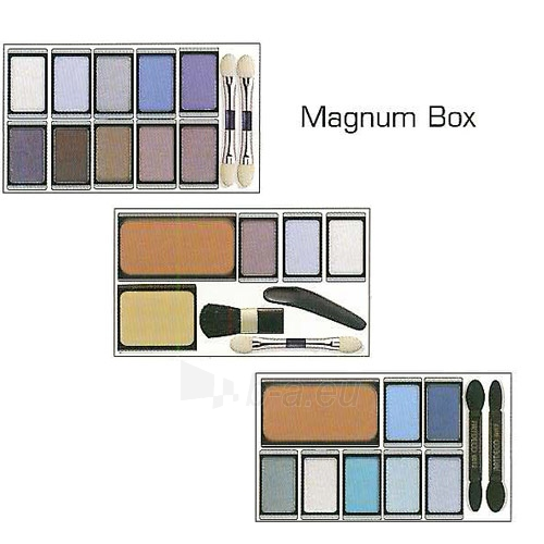 Šešėliai akims Artdeco Magnetic box with mirror (Beauty Box Magnum) Paveikslėlis 2 iš 2 2508200001060