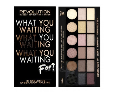 Makeup Revolution Salvation Palette What You Waiting For? Paveikslėlis 1 iš 1 250871200778