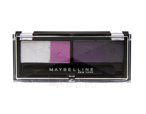 Maybelline Eyestudio Quad Eye Shadow Cosmetic 5g (Vivid Plums) Paveikslėlis 1 iš 1 250871200330