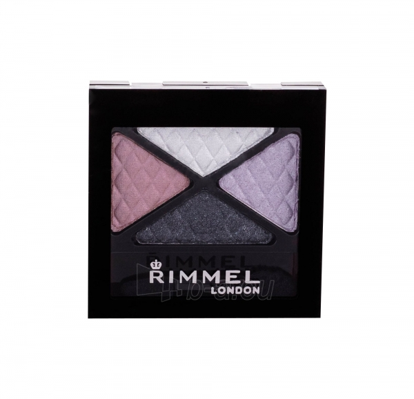 Šešėliai akims Rimmel London Glam Eyes Quad Eye Shadow Beauty Spells 4,2g Paveikslėlis 1 iš 2 250871200256