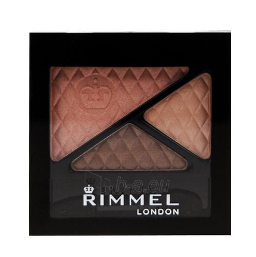 Rimmel London Glam Eyes Trio Eye Shadow Cosmetic 4,2g (Spices) Paveikslėlis 1 iš 1 250871200229