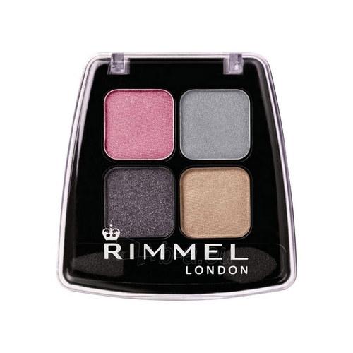Rimmel London Quad Eye Shadow 4g (Urban Queen) Paveikslėlis 1 iš 1 250871200399