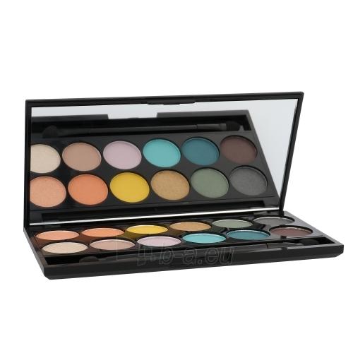 Šešėliai akims Sleek MakeUP I-Divine Eyeshadow Palette Cosmetic 13,2g Shade 450 Del Mar Vol II Paveikslėlis 1 iš 1 310820011894