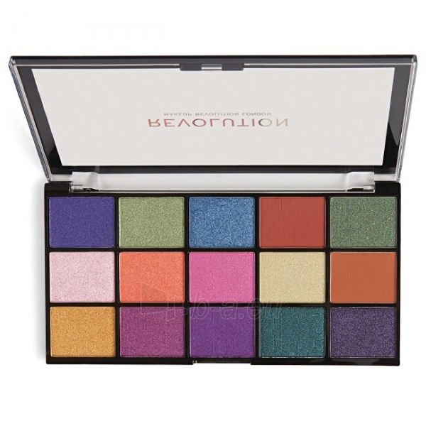 Šešėlių paletė Makeup Revolution 15 Eye Shadow Palette Re-Loaded Passion for Color Palette 16.5g Paveikslėlis 1 iš 3 310820176741