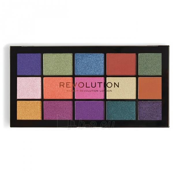 Šešėlių paletė Makeup Revolution 15 Eye Shadow Palette Re-Loaded Passion for Color Palette 16.5g Paveikslėlis 2 iš 3 310820176741
