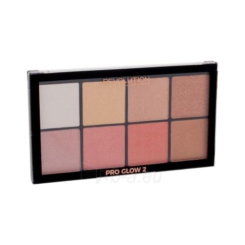 Šešėlių paletė Makeup Revolution London Ultra Pro Glow Palette 2 Cosmetic 20g Paveikslėlis 1 iš 1 310820132915