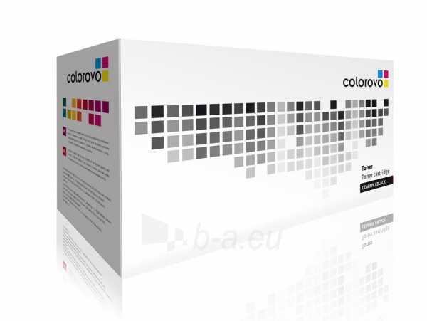 Set of toners COLOROVO 12A-BK | Black | 2000 pp. | HP Q2612A x 10 pcs Paveikslėlis 1 iš 1 2502560201504
