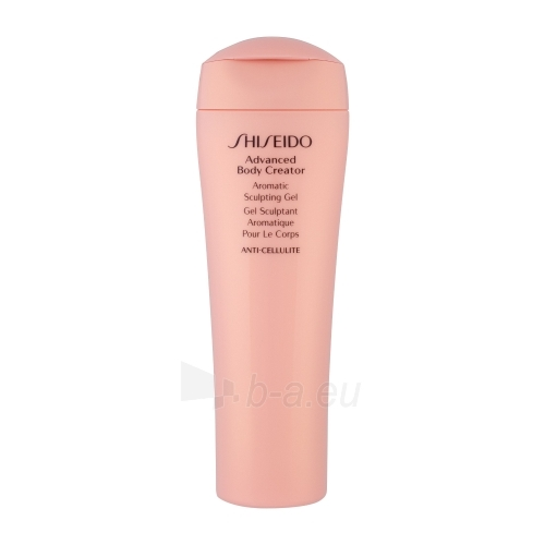 Shiseido Advanced BODY CREATOR Aromatic Sculpting Gel Cosmetic 200ml Paveikslėlis 1 iš 1 250850100046
