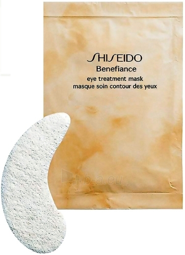Shiseido BENEFIANCE Eye Treatment Mask Cosmetic 10ks Paveikslėlis 1 iš 1 250840800193