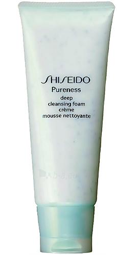 Shiseido PURENESS Deep Cleansing Foam Cosmetic 100ml (testeris) Paveikslėlis 1 iš 1 250840700329
