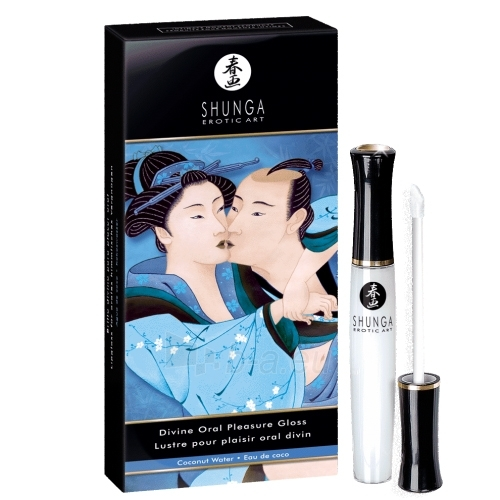 Shunga oralininio malonumo lūpų blizgis Kokosas Paveikslėlis 1 iš 3 2514133000066